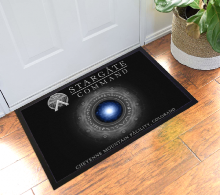 Stargate SG-1 Command Cheyenne Mountain Facitlity Welcome Mat Doormat